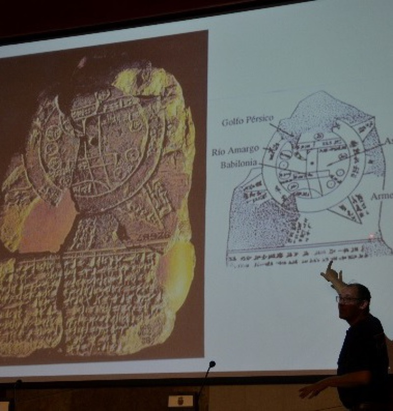 Conferencia Historia de la Cartografía.Palencia