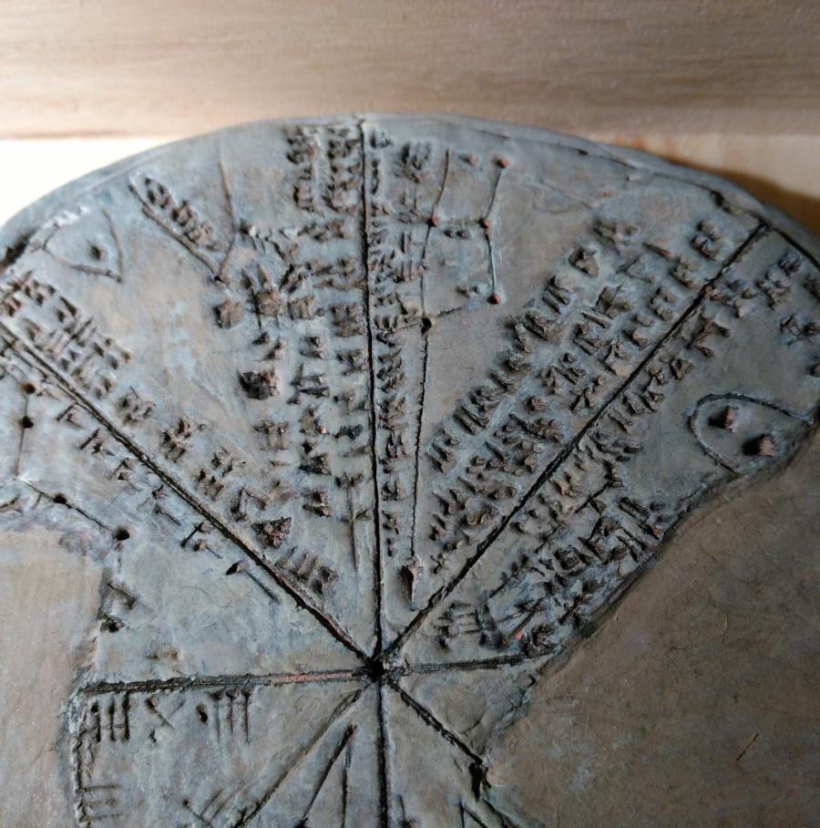 Astrolabio Asirio-Sumerio