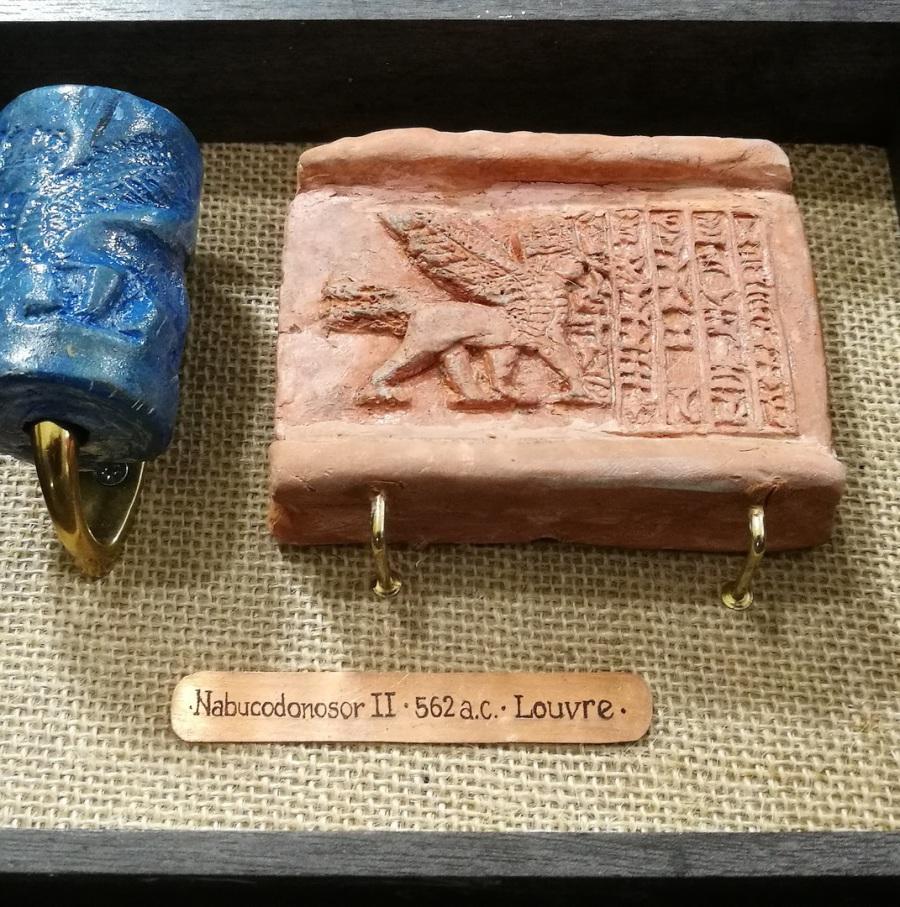 La primera imprenta.Sellos Mesopotámicos
